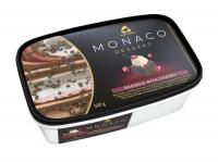 Морозиво Три ведмеді Monaco Dessert Brownie With Cherry 500г