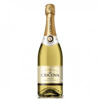 Вино ігристе Cricova Мускат біле напівсолодке 10,5-13,5% 0.75л