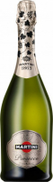 Вино ігристе Martini Prosecco сухе 11,5% 0,75л + 2 келиха короб