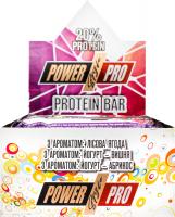 Батончик Protein Bar з ароматом лісова ягода 40г х12
