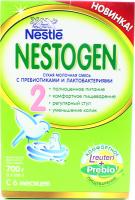 Суміш Nestle Nestogen 2 молочна із пребиотиками 700г х6