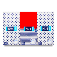 Хустинки носові паперові Bella №1, 6 пачок