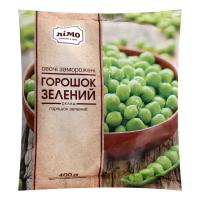 Овочі заморожені Лімо Горошок зелений 400г х20