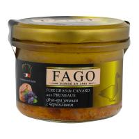 Fago фуа-гра з чорносливом 180г х24
