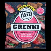 Сухарики Flint Grenki житні зі смак. телятини з аджикою 110г х48