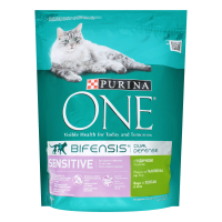 Корм Purina One для котів Sensitive індичка-рис 800г х24