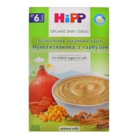 Каша Hipp Мультизлакова з гарбузом безмолоч. орг. 200г х24