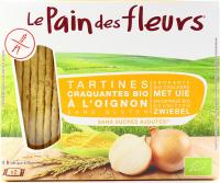 Хлібці le Pain des fleurs безглютенові з цибулею 150г