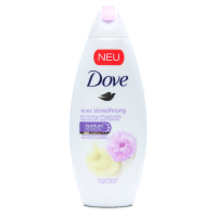 Гель-крем Dove для душу вершкова ваніль і піон 250мл х6