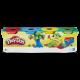 Іграшка Hasbro Play-Doh Набір для ліплення 4баночки B5517