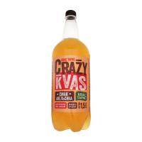 Квас Квас Тарас Crazy Kvas смак апельсина 1,5л х6