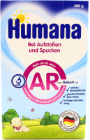 Суміш Humana суха молочна AR 400г х12
