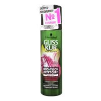 Кондиціонер для чутливого та схильного до пошкодження волосся Gliss Kur Bio-Tech Restore, 200 мл