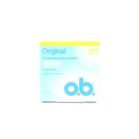 Тампони гігієнічні O.b. Original Normal, 8 шт.