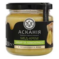 Мед-крем Асканія імбир та лемонграсс 250г х12