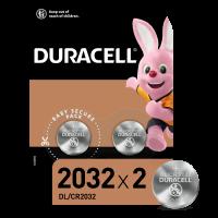 Батарейка Duracell літієва 3V 2032 2шт.