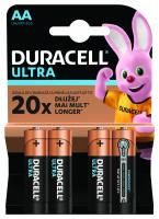 Батарейки Duracell Ultra Power AA LR6/MX1500 4шт х20