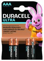 Батарейки Duracell Ultra ААА 4шт х20