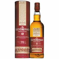 Віскі GlenDronach 12 yo Original  43% 0,7л тубус х2