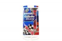 Станок для гоління Gillette Blue3 Red 6шт х6