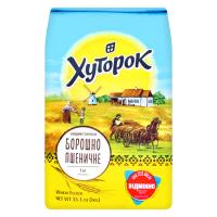 Борошно Хуторок пшеничне в/г 1кг х10