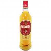 Віскі Grants 8 years 40% 0,7л кор. х2