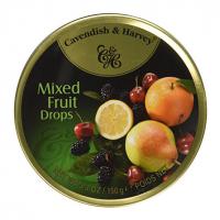 Льодяники Cavendish&Harvey фруктове асорті 200г ж/б х10