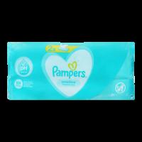 Серветки Pampers Sensitive вологі дитячі 2*52шт.