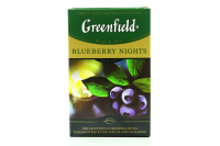 Чай Greenfield Blueberry Nights чорний 100г х15
