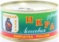 Ікра лососева Русская зерниста (ключ) ж/б 120г
