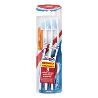 Зубна щітка Aquafresh Flex Medium, 3 шт.
