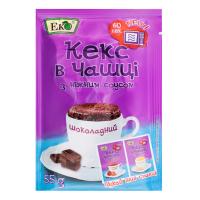 Суміш Еко Кекс у чашці шоколадний 55г