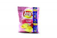 Чіпси Lays Краб 71г х20