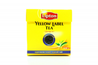 Чай Lipton Yellow Label Tea чорний крупнолистовий 100г х6