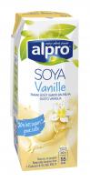 Напій Alpro соєвий ванільний 0,25л