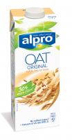 Напій Alpro вівсяний з кальцієм та вітамінами 1л