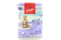 Пелюшки Happy для немовлят 60*60 10шт. х6