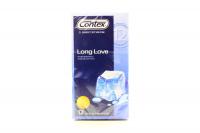 Презервативи латексні з анестетиком Contex Long Love, 12 шт.