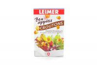 Сухарики Leimer Croutons цибуля та часник 100г х10