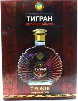 Коньяк Тігран Армянский 7років 0,5л 40% x3