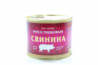 М`ясо Tinfood свиниина тушковане ж/б 525г