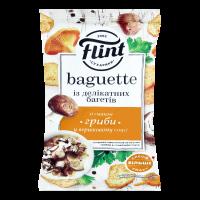 Сухарики Флінт Baguette смак грибів 60г х48