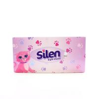 Серветки Silen Right Choice гігієнічні 2-х шарові 150шт х15