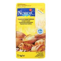 Борошно Nordic пшеничне 1кг х10