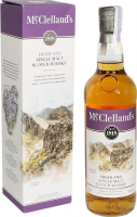 Віскі McClellands Highland 40% 0,7л короб х2
