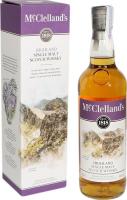 Віскі McClellands Highland 40% 0,7л короб х2