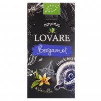 Чай Lovare Organic чорний з бергамотом і ваніллю 24*1,5г