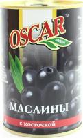 Оливки Oscar чорні з/к 425г