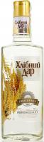 Горілка Хлібний дар Пшенична 40% 0,37л х12