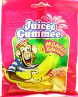 Цукерки Juicee Gummee Мавпи та банани 80г х12